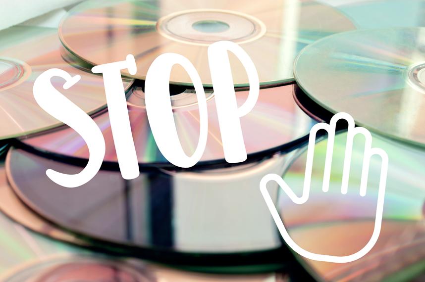 Pas de CD ? Pas de panique !